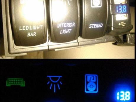 LED Rocker switches