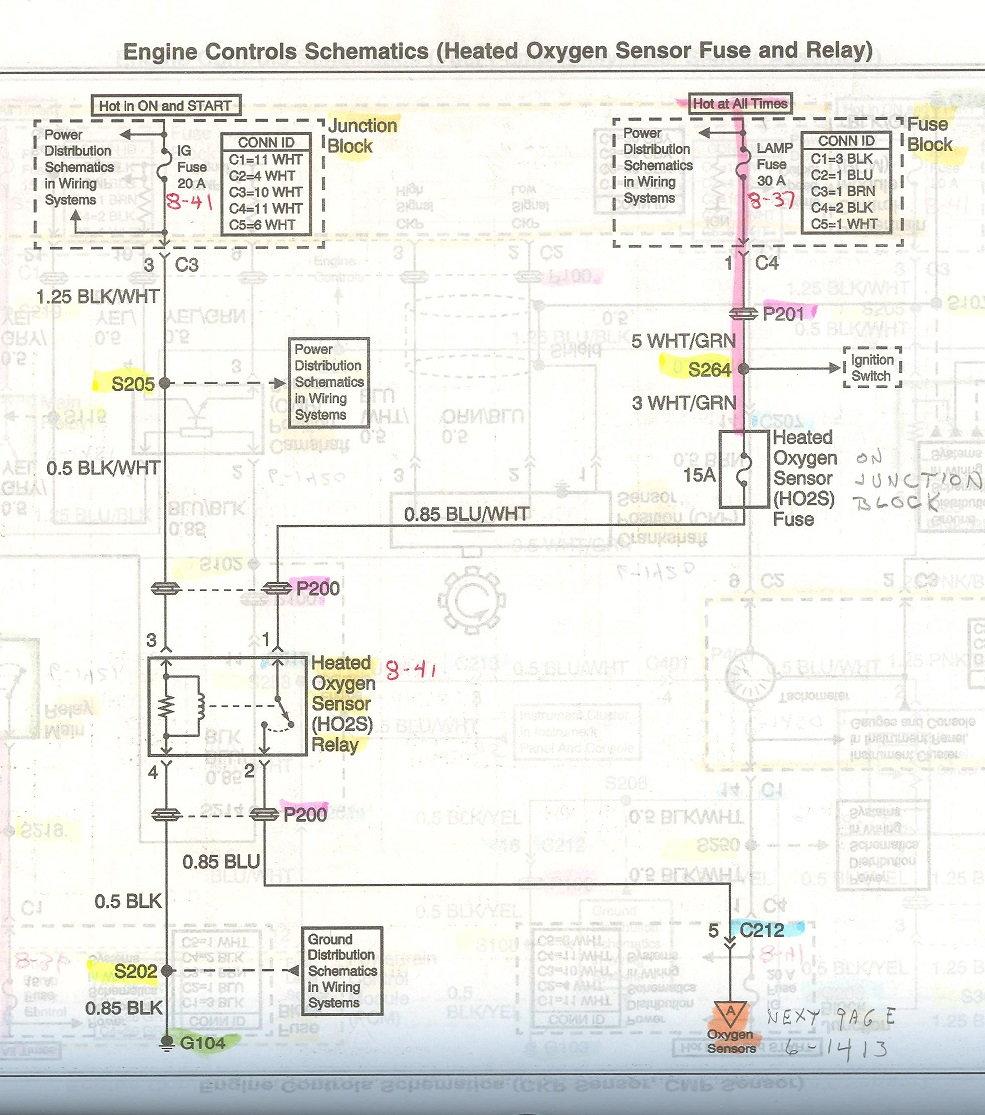 2002 Chevy Tracker O2 Heater Sensors Code - Chevrolet Forum