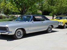 1965 Riviera and 1970 Olds 442