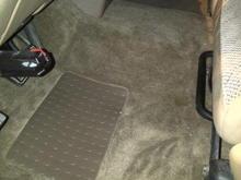floor front new carpet