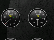 13% throttle at idle?
