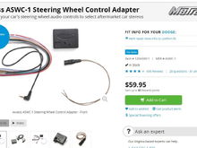 Crutchfield steering wheel control adapter