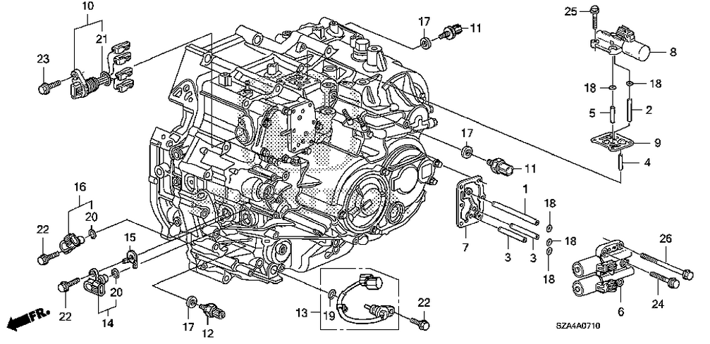 2007 honda accord engine diagram 2007 cadillac escalade