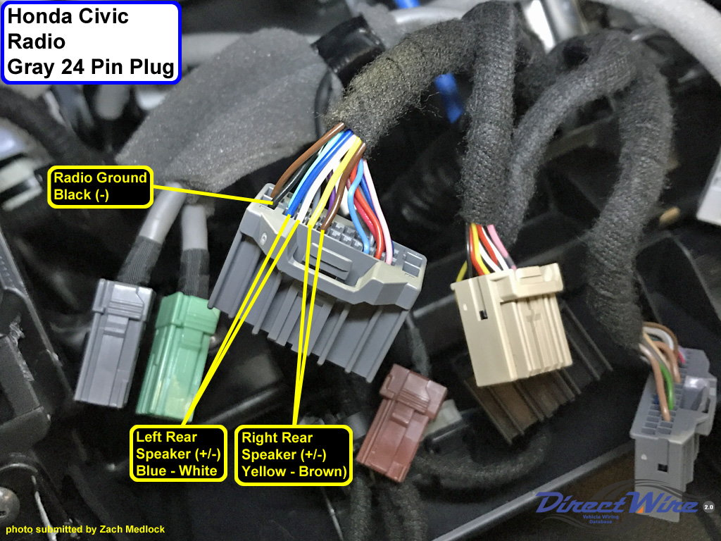Diagram 1999 Honda Civic Radio Wiring Diagram Full Version Hd Quality Wiring Diagram Tawndiagram Radd Fr
