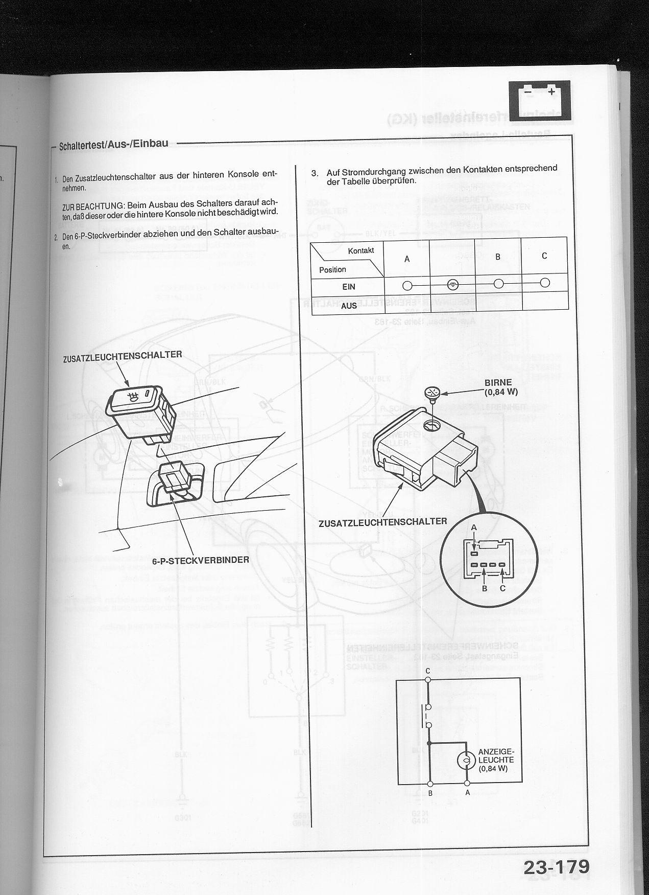 honda del sol front fog light switch wiring help. Black Bedroom Furniture Sets. Home Design Ideas