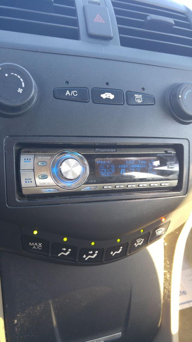 2005 Accord Lx Stock Radio  - Honda-tech