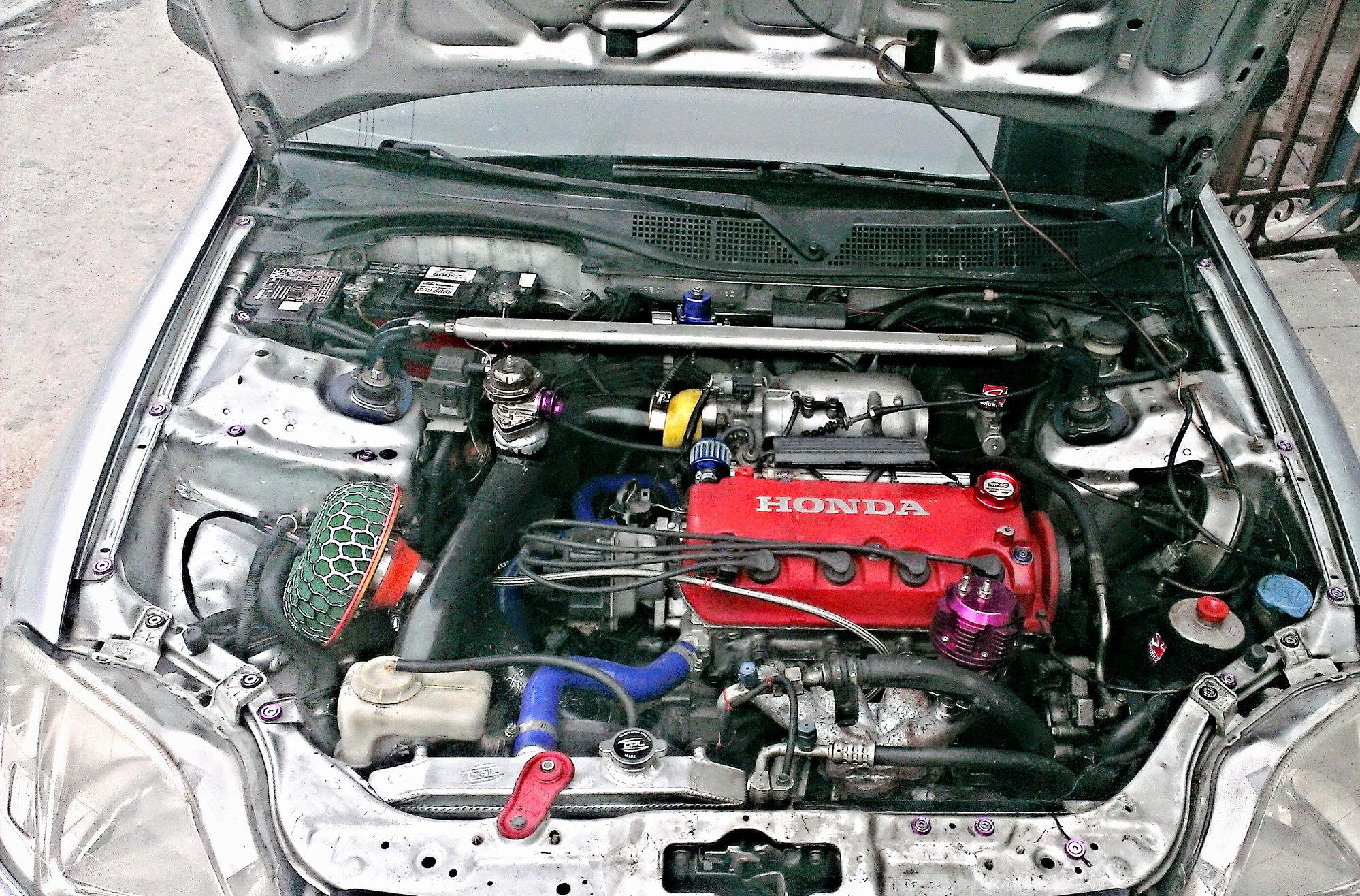 Twin turbo d16y8