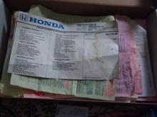 previous owner kept every receipt and the window sticker since 99'