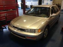1997 LX Wagon JDM install.