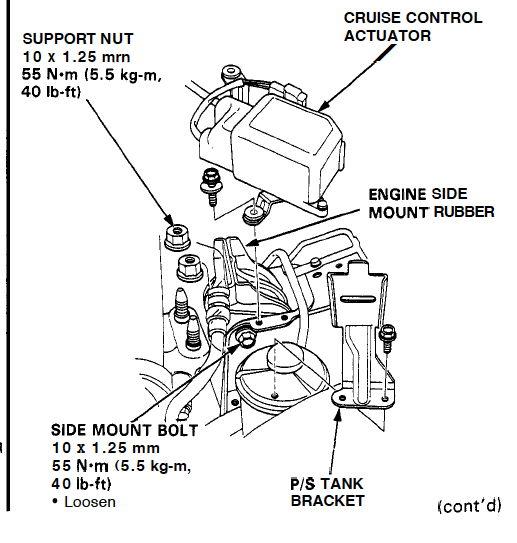 93 del sol - engine mounts loose    - honda-tech
