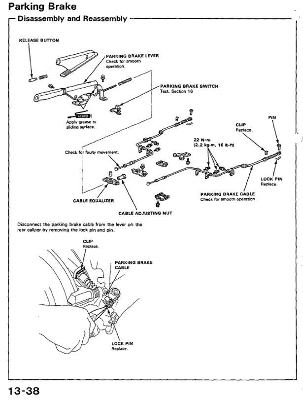 honda civic brake caliper parts diagram  honda  auto