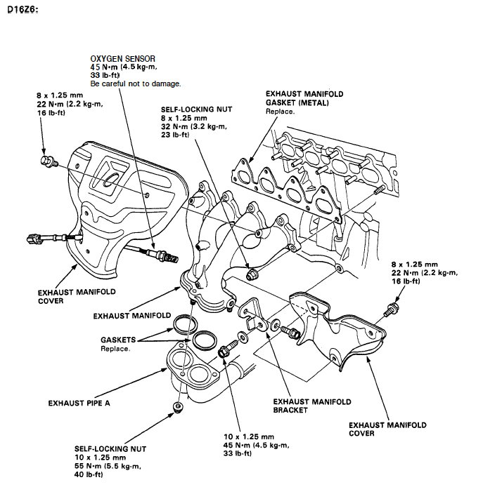 Honda D16z6 Ecu Wiring Diagram In Addition Honda Civic Oxygen Sensor