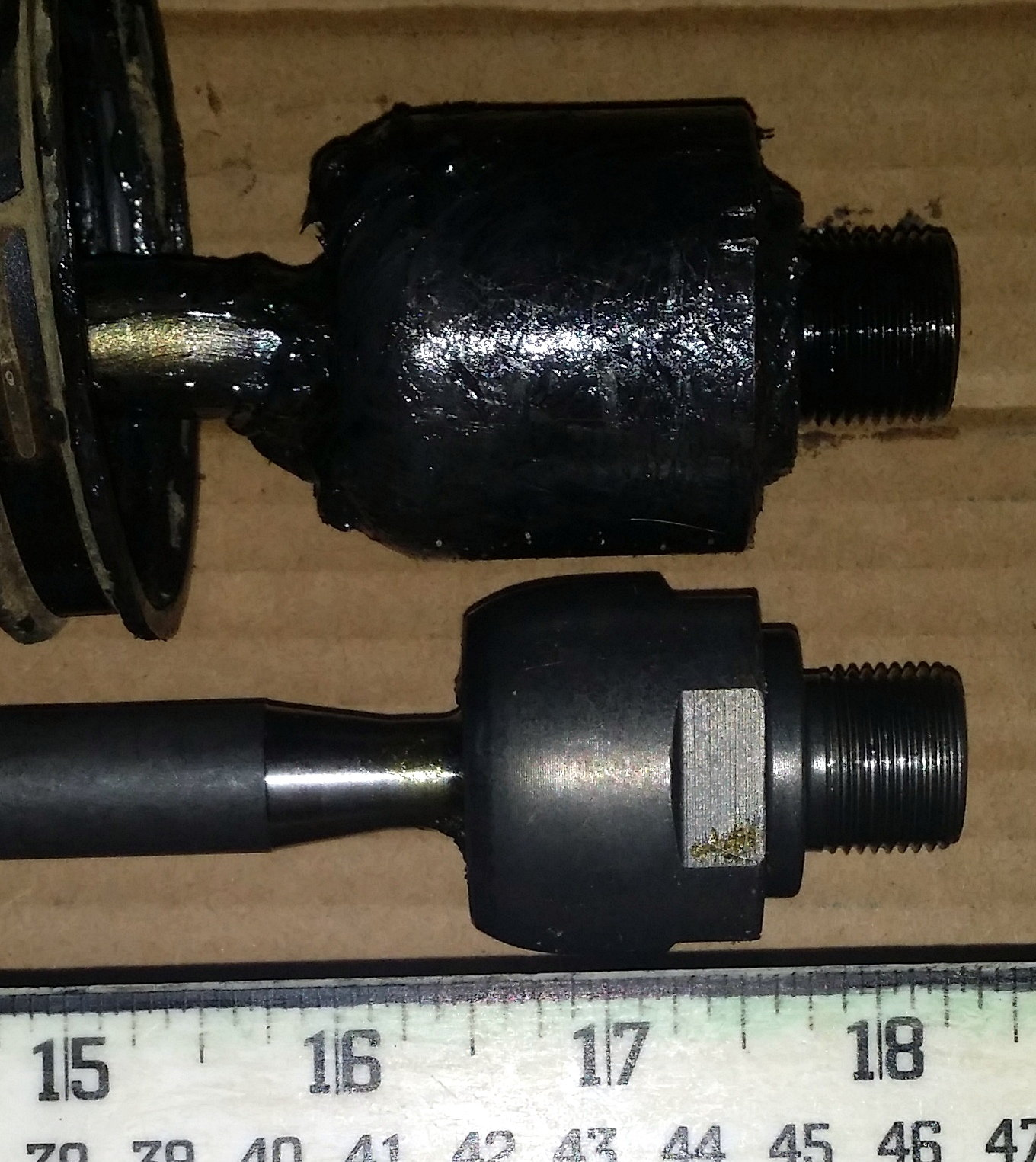 Inner Tie Rod Length Issue Land Rover Forums Range Track Fortunately Dont Need To Swap Out Lower Control Arms Anyway I Really Want Solve This Mystery So Any Help Would Be Appreciated Thanks Simon