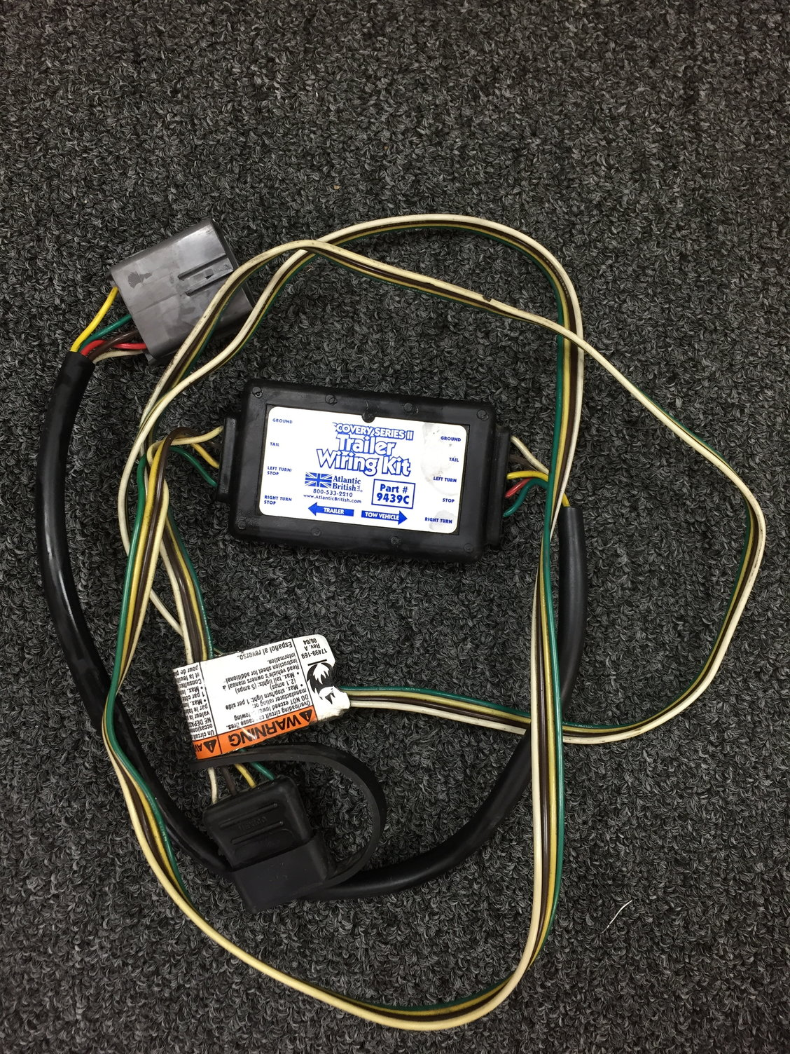 D2 Trailer Wiring Harness-  60 Shipped