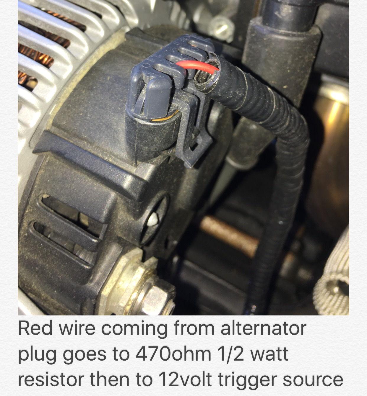 C5 Ls1 Alternator Wiring Question - Ls1tech