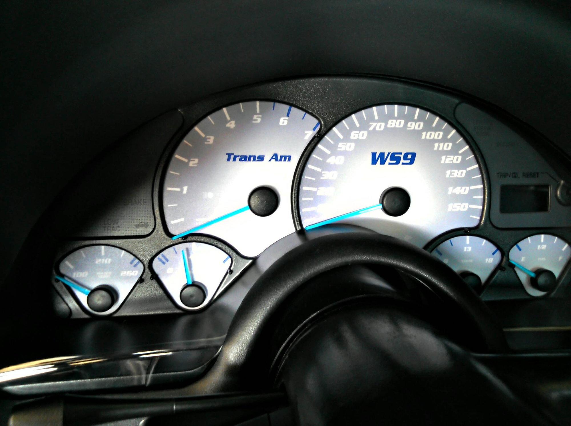 Blue 6LE gauge needles - LS1TECH - Camaro and Firebird Forum