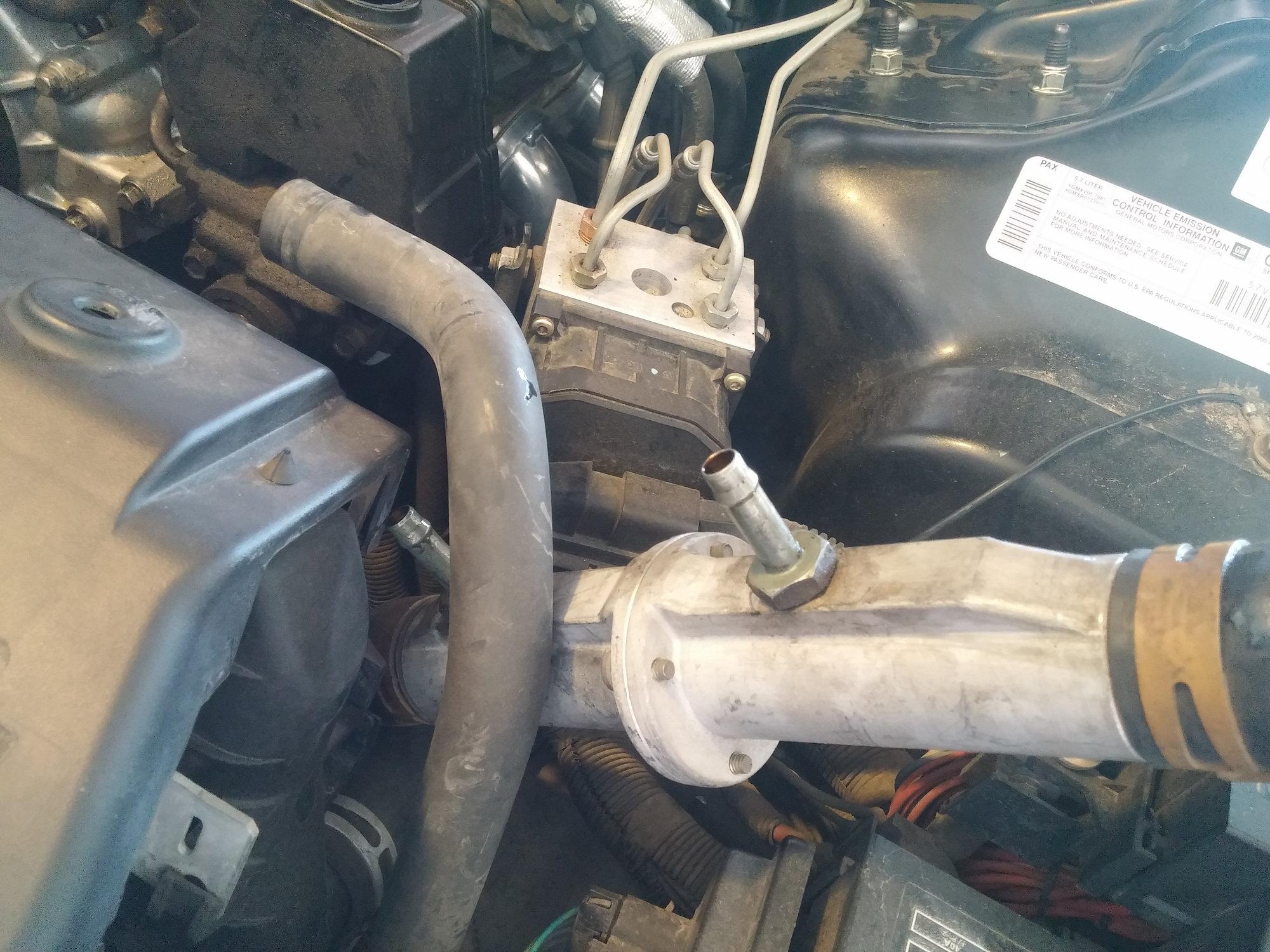 Steering Pump Removal