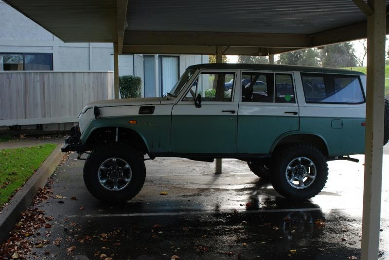 Build:Toyota FJ55 using turbo 5 3L with modest goals(500hp on 91