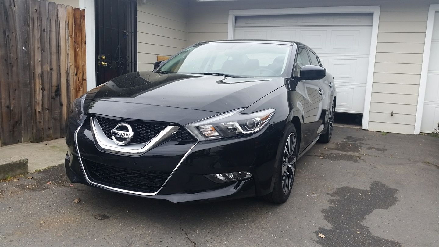 Hi just bought a 2016 nissan maxima s no fancy here 21k miles 21k with 6yr 100k warranty