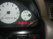 My CEL light was not going on so i pulled it and swapped lights with the one next to it. Walla the CEL is now working. What is(was) that bulb next to it? Where can i buy replacement warning bulbs online? My fuel light needs to be replaced too.