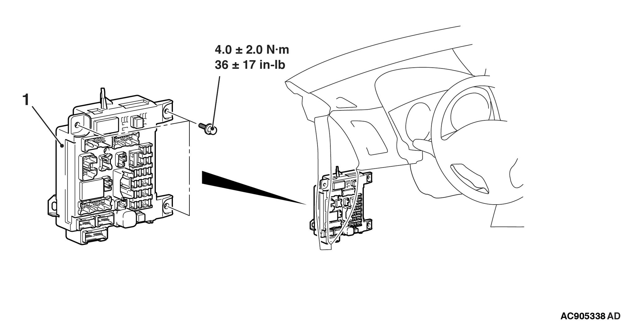 2014 Outlander Sport No-Start/Fuel Pump Wiring ...