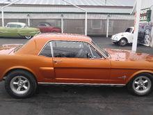 65 Atomic Orange Coupe