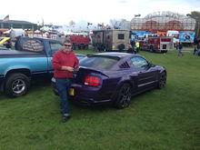 Drennan's Purple '05 Mustang