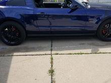 2011 Kona Blue Mustang GT