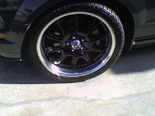 20'' Shelby Redline rims 255/50/20 on pirelli's