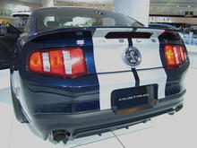 2010 Ford Mustang Shelby GT500 Drivers Rear Corner
