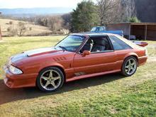 My 87 Mustang T-Top