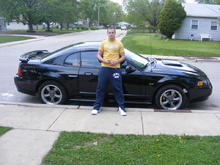 My bro and his 2002 mustang
