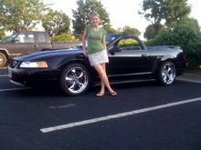 00 Mustang 2 w/my Girl