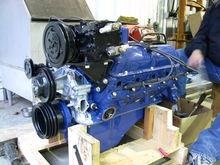 The motor after the rebuild.