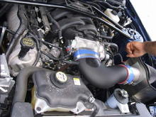 Ford Racing Air Intake With C&L Neck