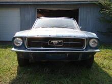 '67 Vert I6 leaves the garage...finally!
