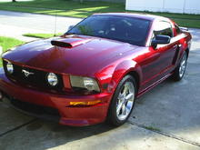2007 Mustang GT/CS-Redfire Metallic