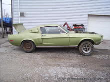 1968 Mustang Shelby Cobra 428 KR restoration completed !