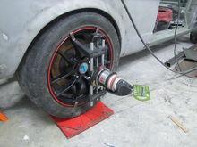 Aligning the camber