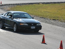 AutoX at devils bowl, first time out. (beat a wrx :D )