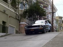 Frank Bullitt on lookout for a black charger!