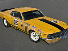 1970 Mustang Boss 302 Trans-Am Racer Up for Auction in August