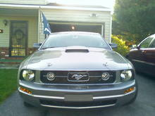 Roush Hood Scoop Installed