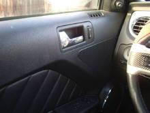 Driver Door Panel Mods: - Carbon Fiber Wrap - Speakers