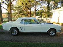 My 1966 Mustang coupe.