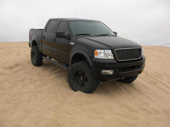 My truck at pismo