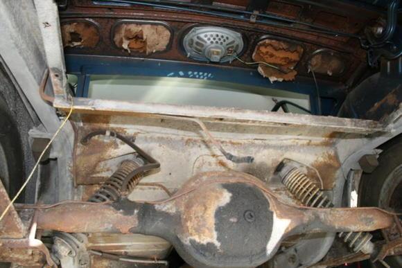 rear axle before