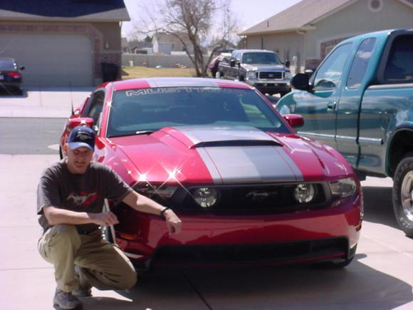 My Stang and me
