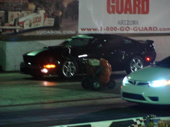at the drags