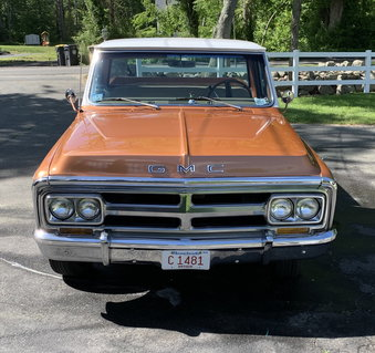 1970 GMC Sierra Grande